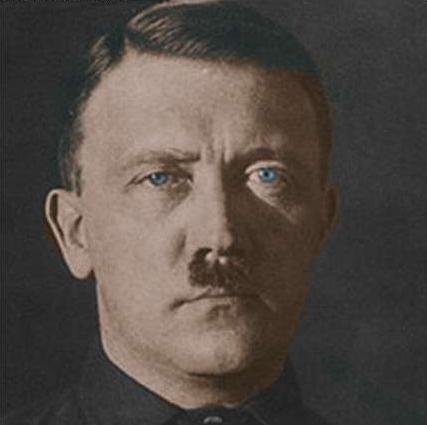 Adolf Hitler (Barvna predelava: Dossier korupcija)