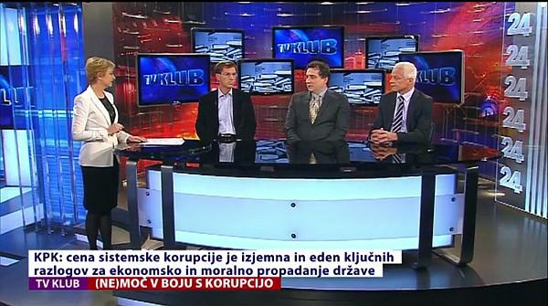 TV Klub: Nemoč v boju proti korupciji.