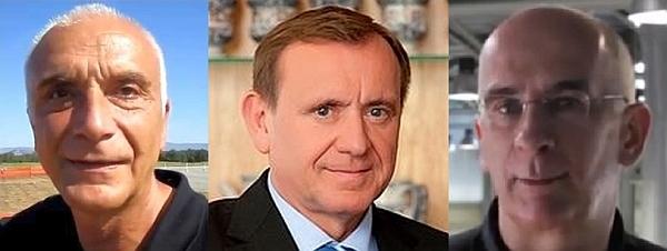 Ivo Boscarol, Jože Colarič in Igor Akrapovic
