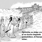 Izjava slovenskega novinarja, da je potrebno postreliti vse begunce, ki se približajo slovenski meji na manj kot 500 metrov, odmeva po Sloveniji.