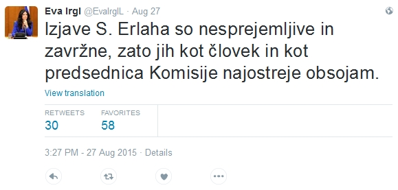 odziv_eve_irgl_na_tvit_sebastjana_erlaha