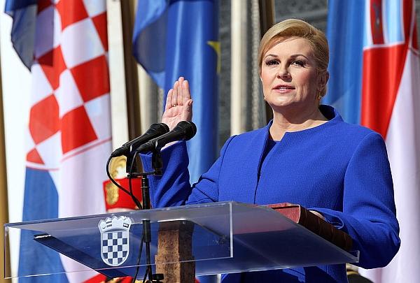 kolinda_grabar_kitarovic_prisega_kot _hrvaska_predsednica