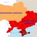 Ukrajina bi se utegnila razdeliti na dva dela – severozahodni in jugovzhodni