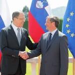 Karl Erjavec: »Slovenija bo branila svoje gospodarske zveze z Rusijo tudi v primeru, če EU uvede ostre sankcije«