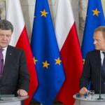Petru Porošenku se je odpeljalo. Vladimirja Putina je obtožil, da si želi prisvojiti vso Evropo in da lahko napade Finsko in baltiške države.