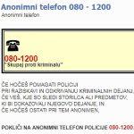 Anonimni telefon Slovenske policije postaja predmet obračunavanja z nezaželenimi posamezniki skozi krive prijave