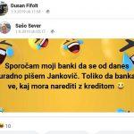 Napadi na Jankovića v primeru Electa so zgolj želja stranke SDS po tem, da spodnese človeka, do katerega čuti sovraštvo.