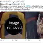 Muslimani zaradi upodobitve preroka Mohameda napadajo Francijo, pa tudi Kitajsko